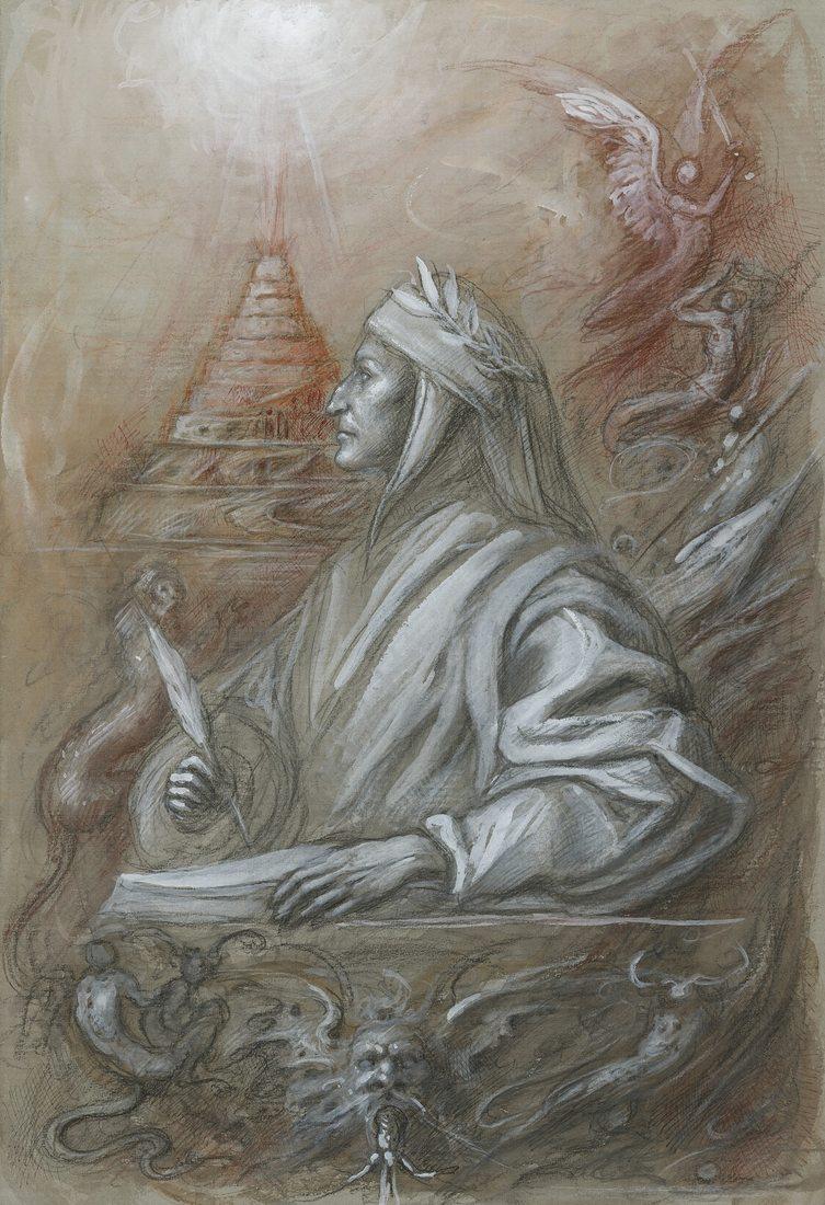 Canto dopo canto. Cento disegni di Giovanni Tommasi Ferroni ispirati alla Commedia dantesca