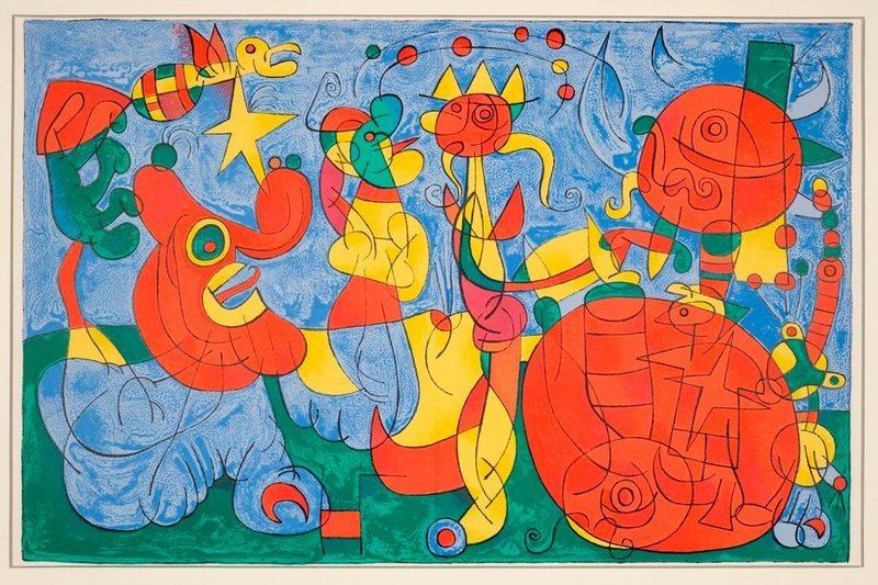 Joan Mirò. Opere grafiche 1948-1974