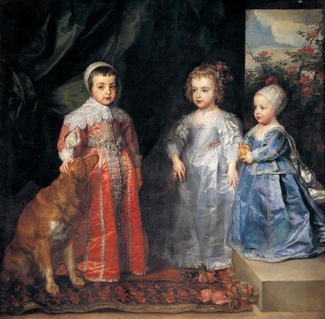 Boldini guarda Van Dyck. Bambini nel tempo.