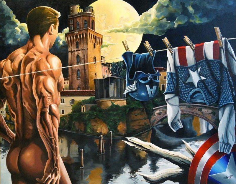 Alberto Volpin - Heroes. La Pop Art nel cuore di Padova