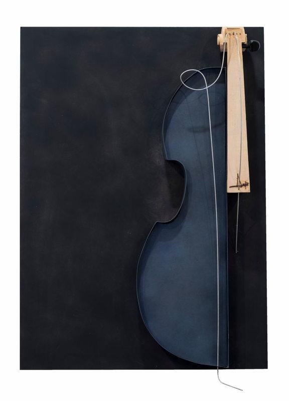 Chiavi di violino, accordi su legno