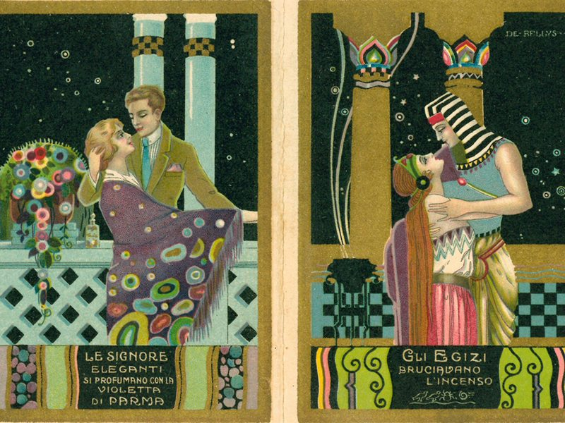 L'arte in tasca - Calendarietti, réclame e grafica 1920-1940