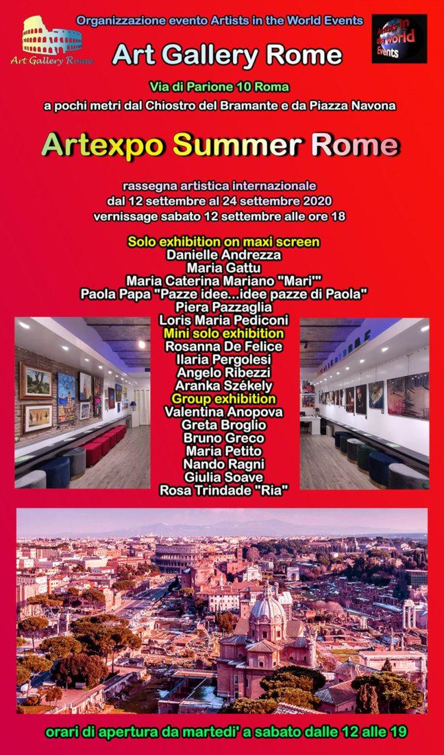 Artexpo Summer Rome 2020