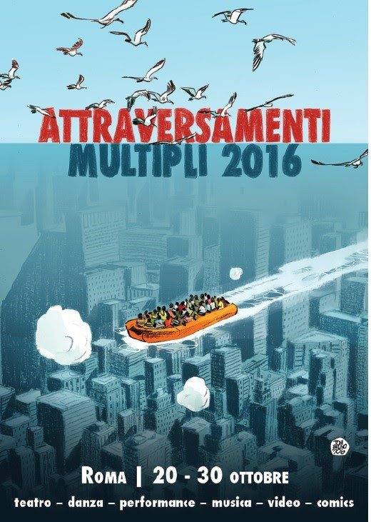 Attraversamenti Multipli - festival multidisciplinare a Roma