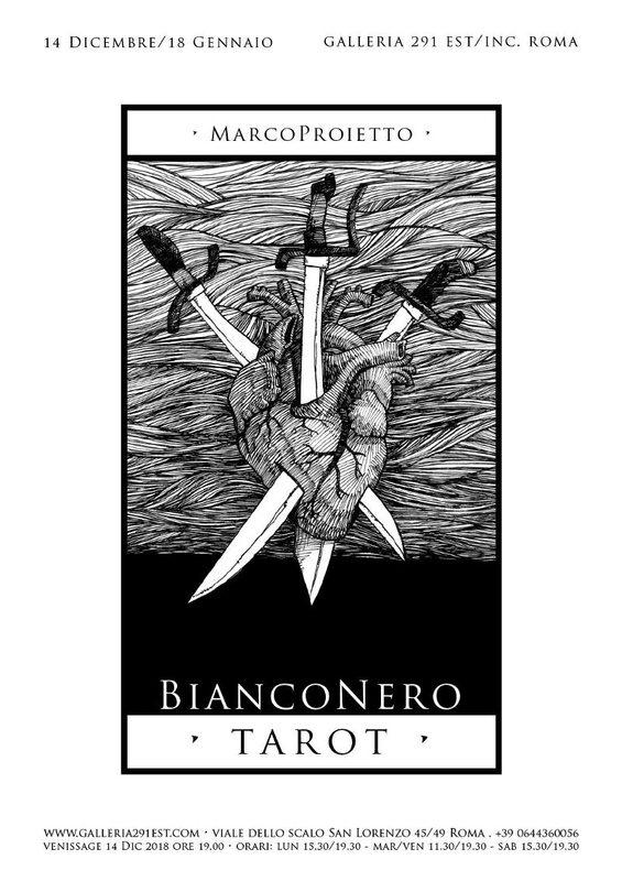 BiancoNero Tarot - Marco Proietto