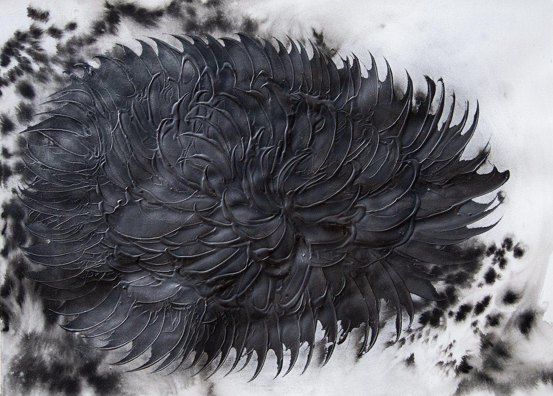 Leda e il Cigno Nero - prima personale di Julia Bornefeld a Milano