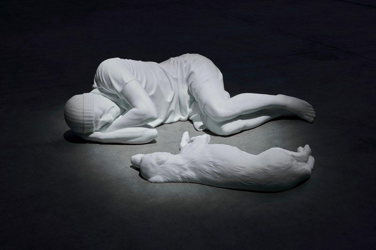Maurizio Cattelan. Breath Ghosts Blind