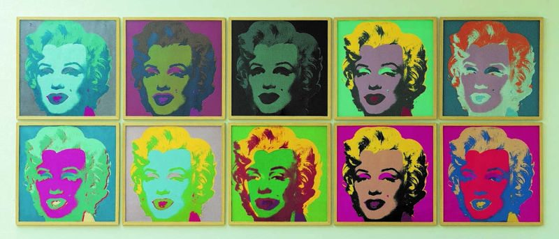 La fotografia nella Pop Art di Warhol, Schifano & Co