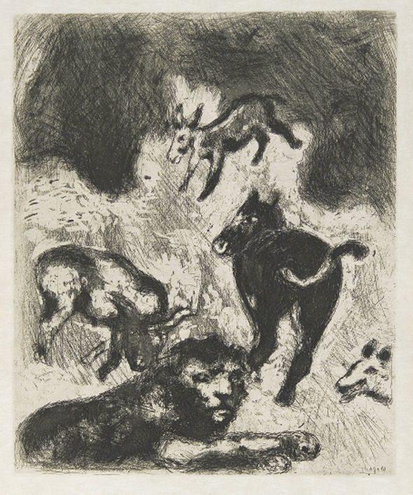 Marc Chagall – Le favole