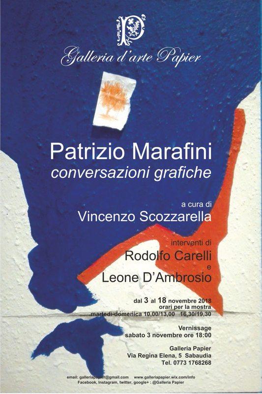 Patrizio Marafini - Conversazioni Grafiche
