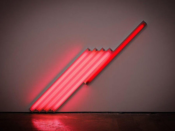 Dan Flavin in mostra a Milano