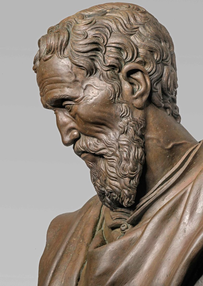Michelangelo: l'effigie in bronzo di Daniele da Volterra