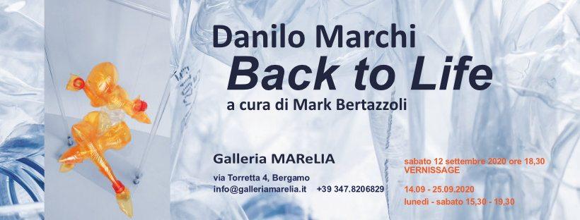 Danilo Marchi in mostra alla Galleria Marelia - Bergamo
