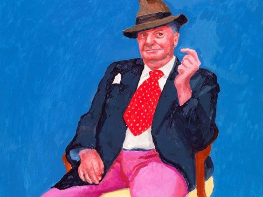 David Hockney 82 ritratti e 1 natura morta