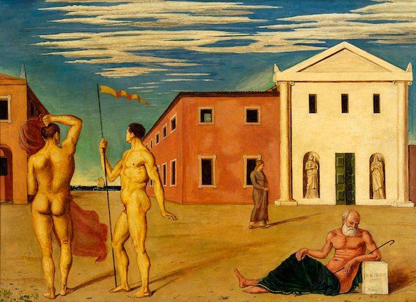 Giorgio de Chirico – Capolavori dalla Collezione di Francesco Federico Cerruti