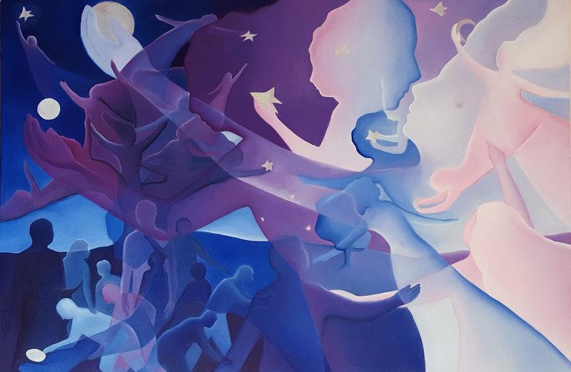 """""""Alla luce del destino"""" - Dipinti e Sculture di Delta N.A."""