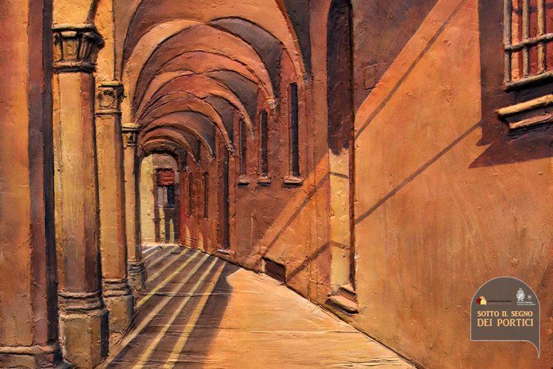 Sotto il segno dei portici - I bassorilievi dipinti di Ivan Dimitrov