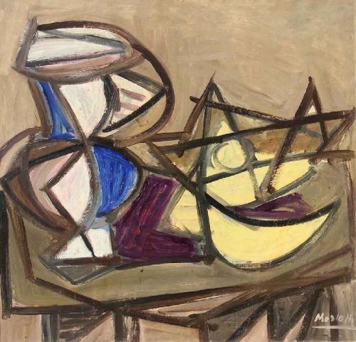 Ennio Morlotti. Dalla collezione Merlini al Museo Morandi