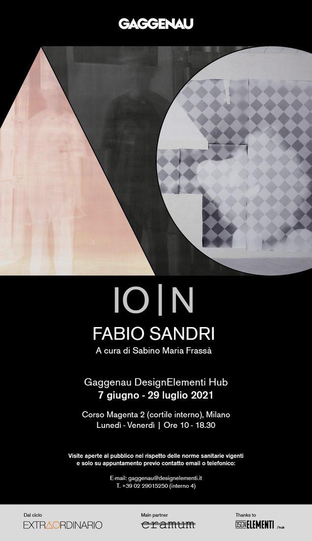 Fabio Sandri. IO   N