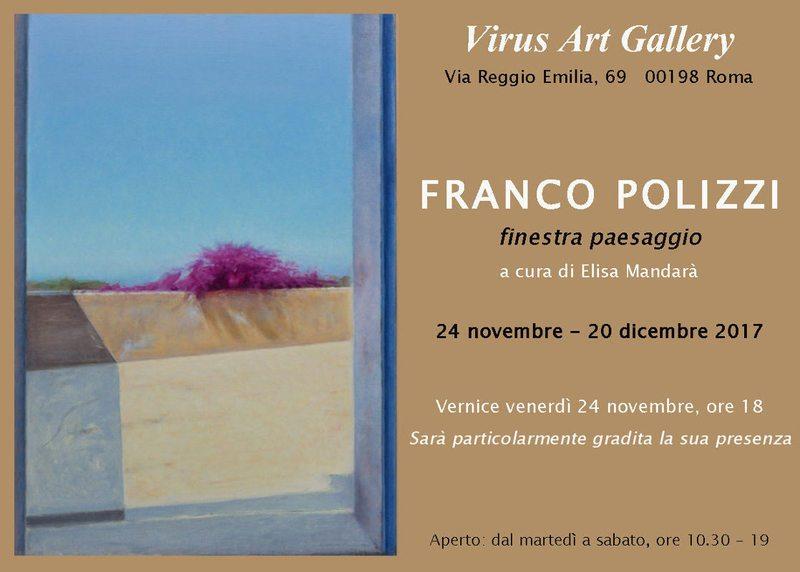 Franco Polizzi - Finestra paesaggio