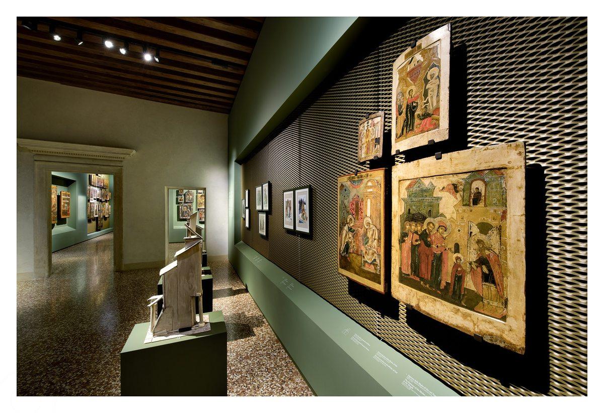 Gallerie d'Italia Vicenza: le icone russe in dialogo con opere di Valery Koshlyakov