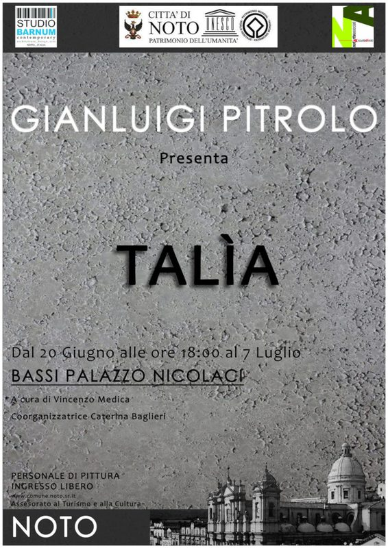 Talìa - Gianluigi Pitrolo