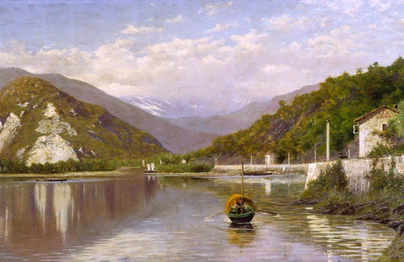 Armonie verdi. Paesaggi dalla Scapigliatura al Novecento.