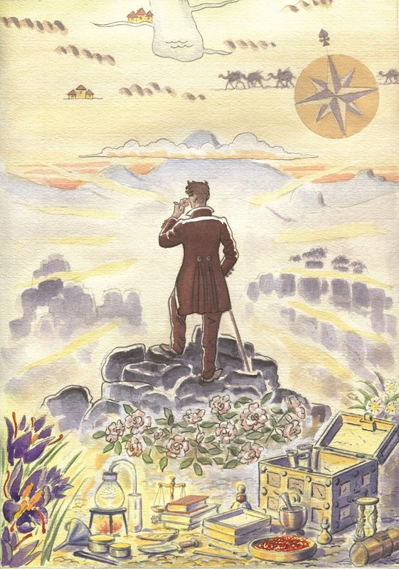 Carnet de Voyage - Il Profumo illustrato