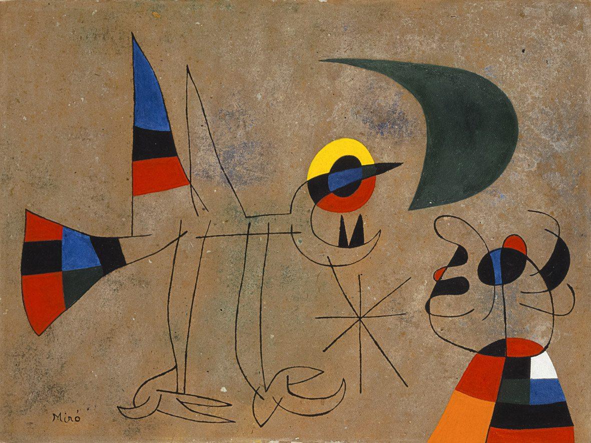 Miró. Il colore dei sogni