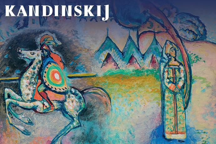 Kandinskij, il cavaliere errante. In viaggio verso l'astrazione