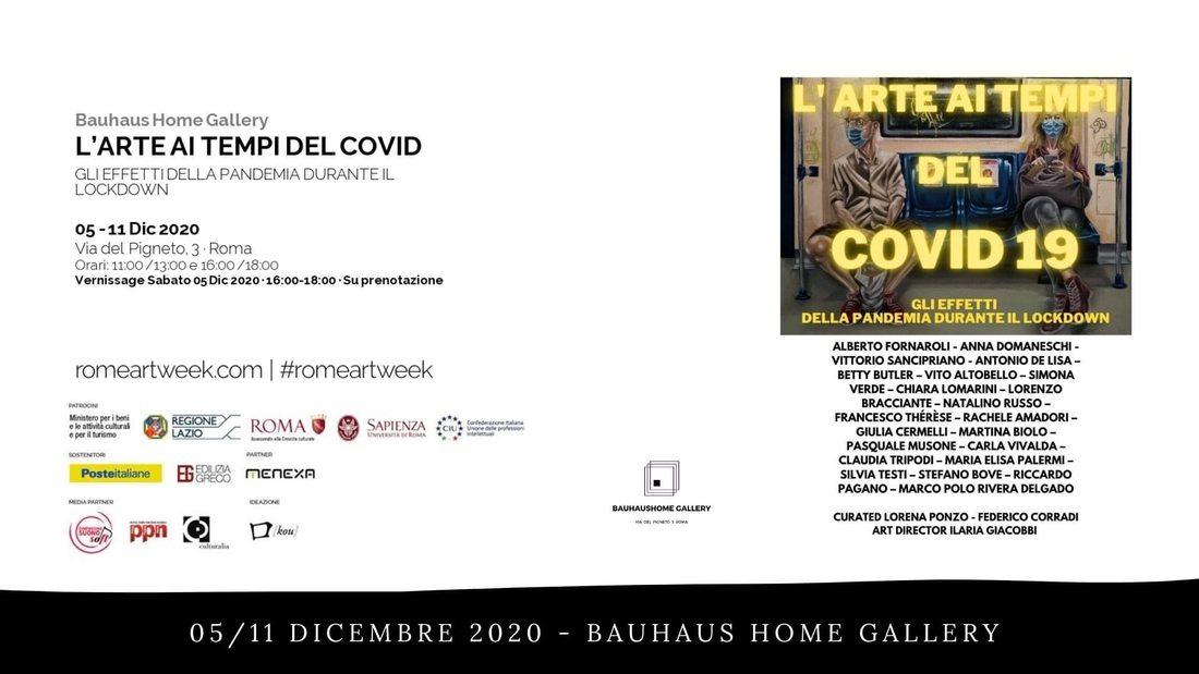 L'arte ai tempi del Covid-19