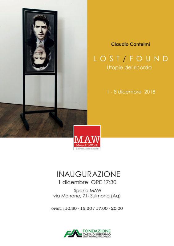 Lost/Found Utopie del ricordo - Claudio Cantelmi