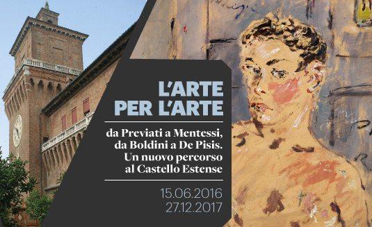 L'arte per l'arte - Da Previati a Mentessi, da Boldini a De Pisis