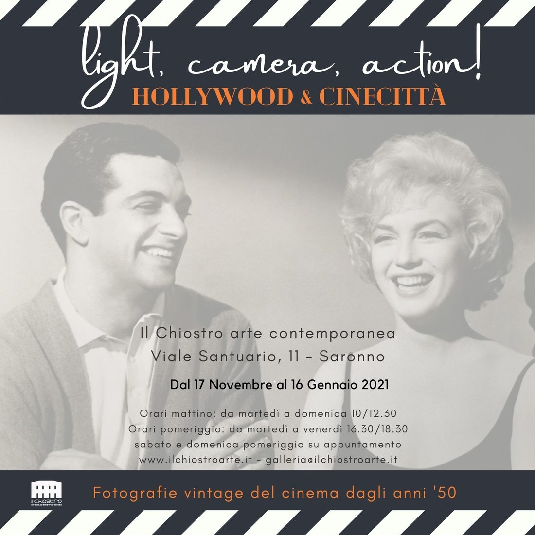 Light, camera, action! Hollywood & Cinecittà