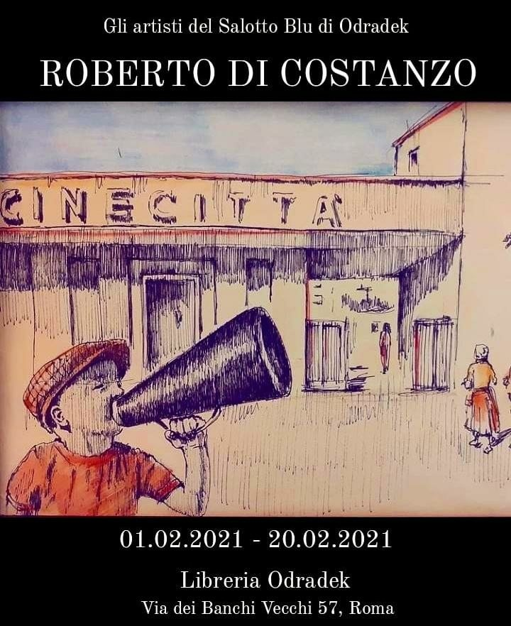 Roberto Di Costanzo al Salotto Blu di Odradek
