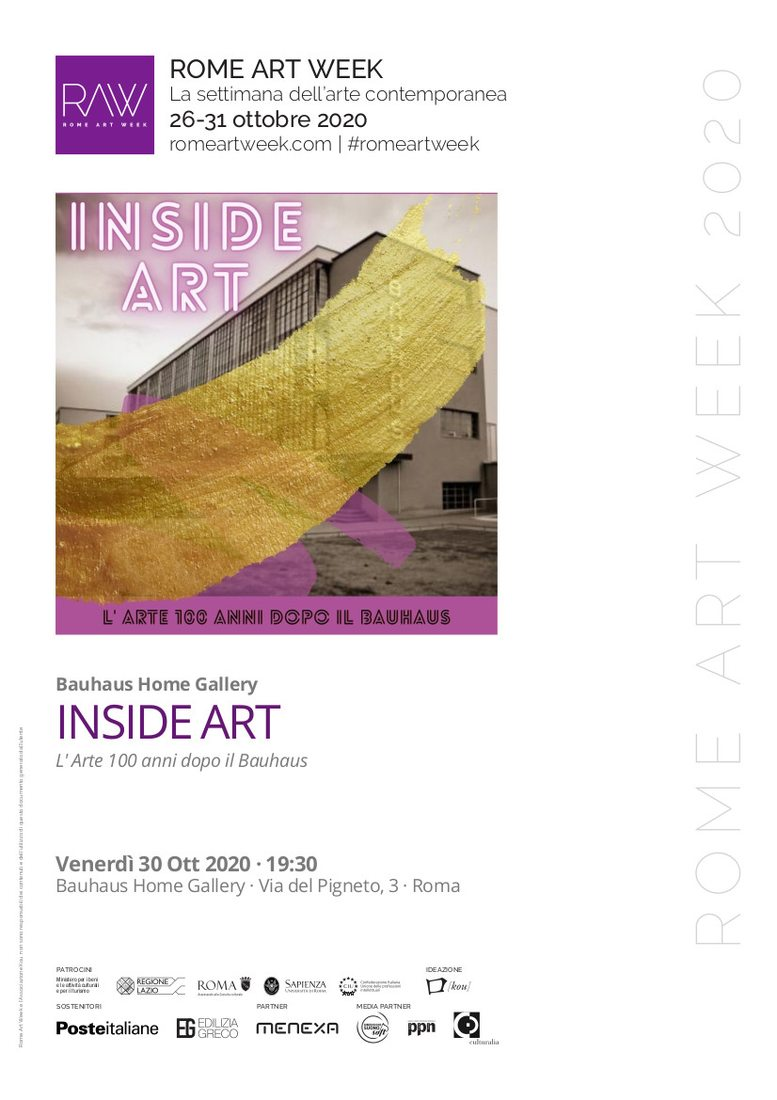 INSIDE ART: L' Arte 100 anni dopo il Bauhaus