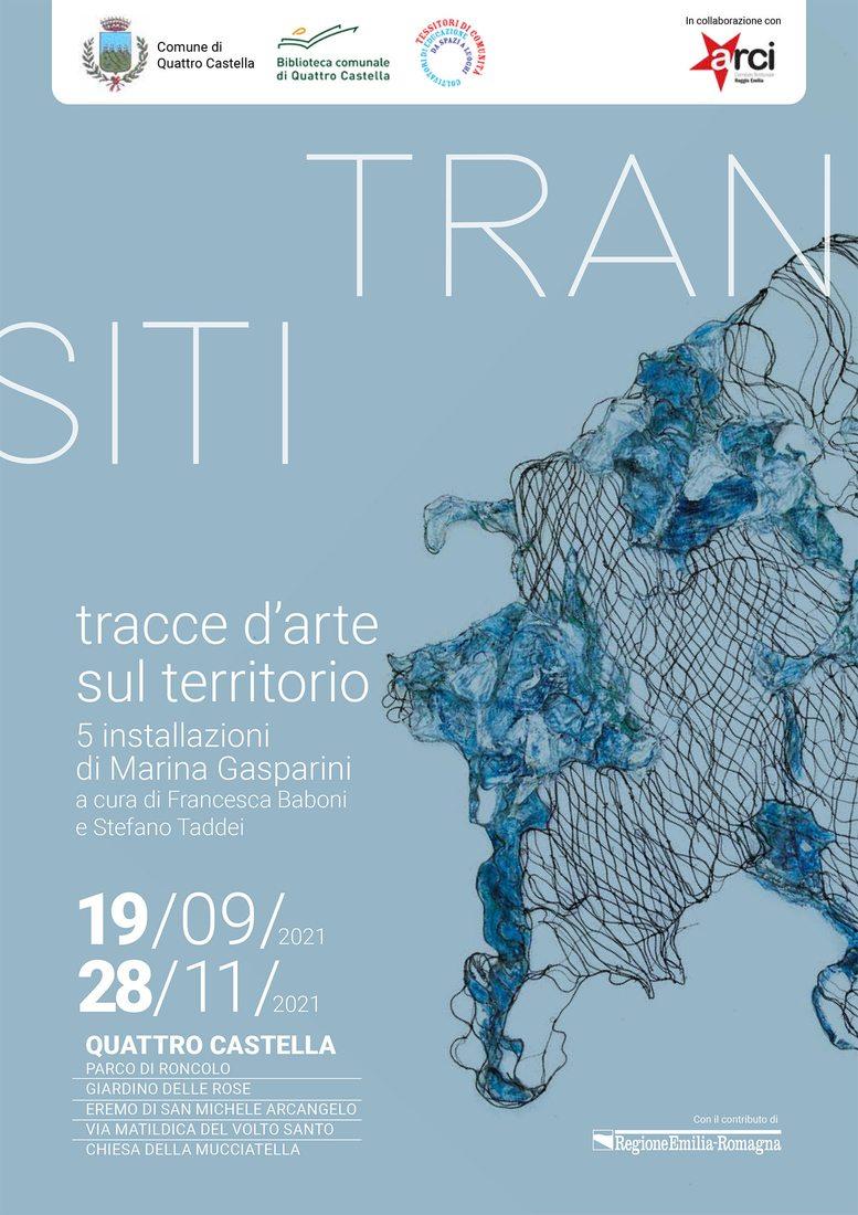 Marina Gasparini. Transiti. Tracce d'arte sul territorio