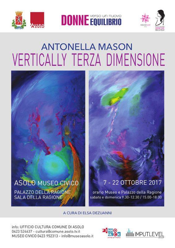 Vertically: Terza Dimensione - Antonella Mason
