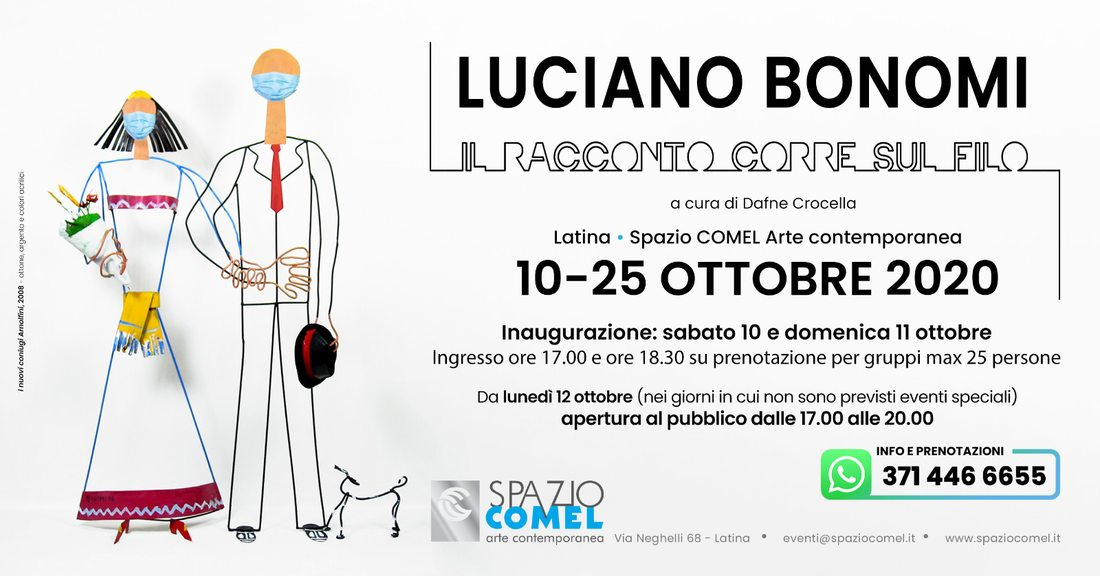 Luciano Bonomi Il Racconto Corre sul Filo