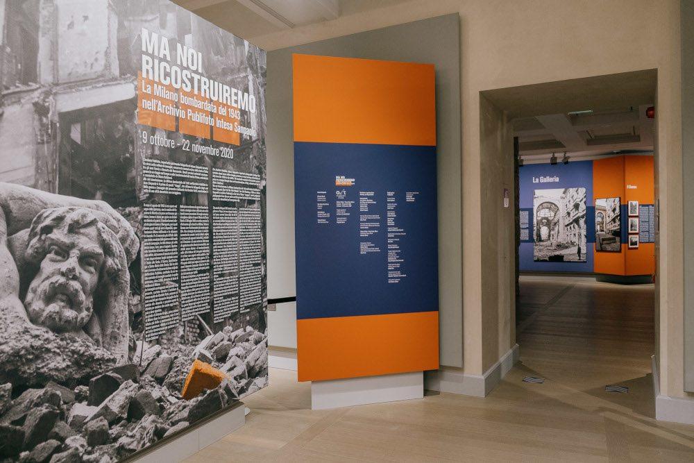 Ma noi ricostruiremo. La Milano bombardata del 1943 nell'Archivio Publifoto