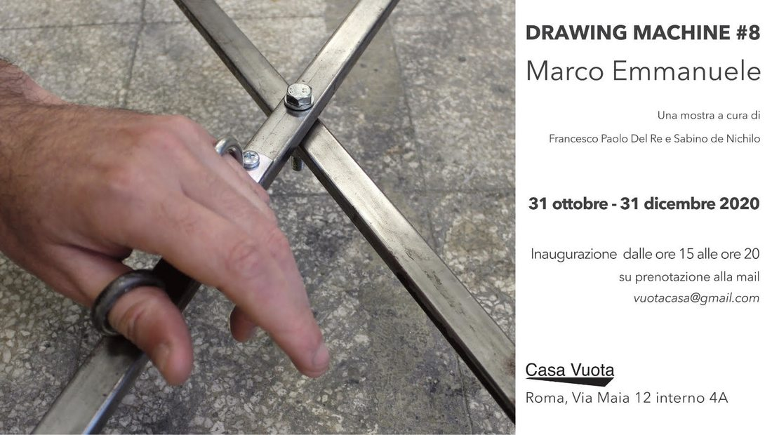 Marco Emmanuele. Drawing machine #8