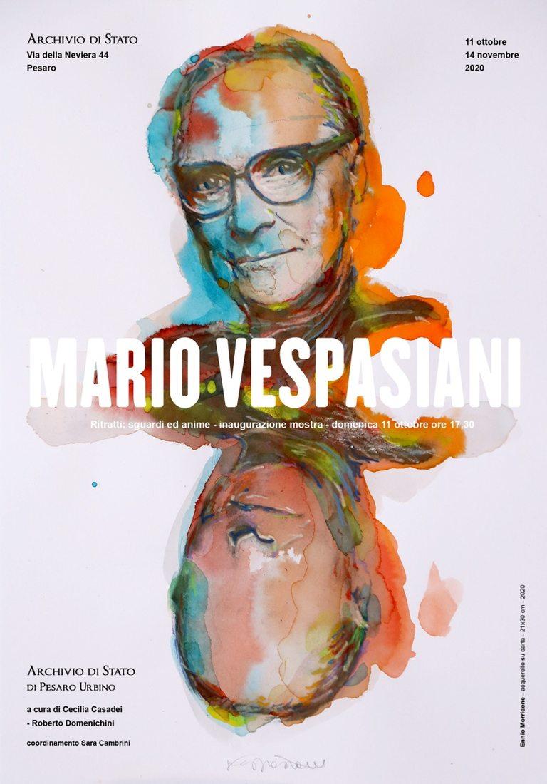 Mario Vespasiani. Ritratti: sguardi e anime