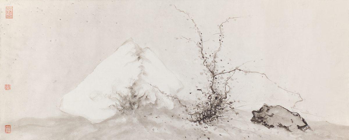 Mengjie Huang e Cristiano Plicato. Frozen Time