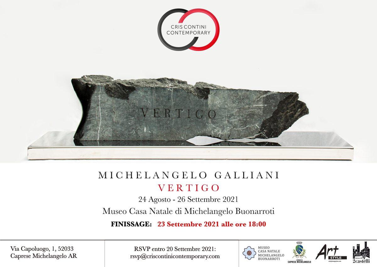 Michelangelo Galliani. Vertigo