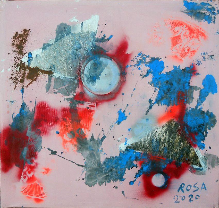 Michele Rosa - due esposizioni personali a Roma e Frosinone
