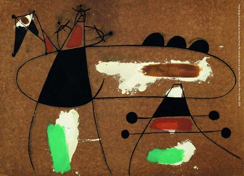Joan Mirò: Materialità e Metamorfosi