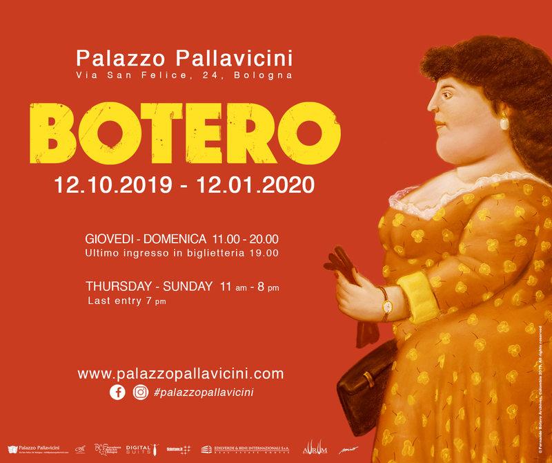 Botero a Bologna, la mostra a Palazzo Pallavicini