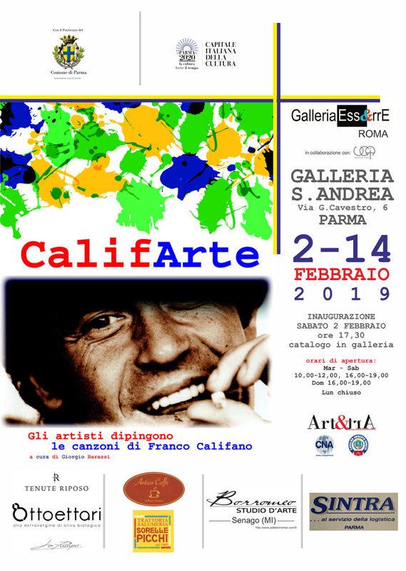CalifArte - gli artisti dipingono le canzoni di Franco Califano