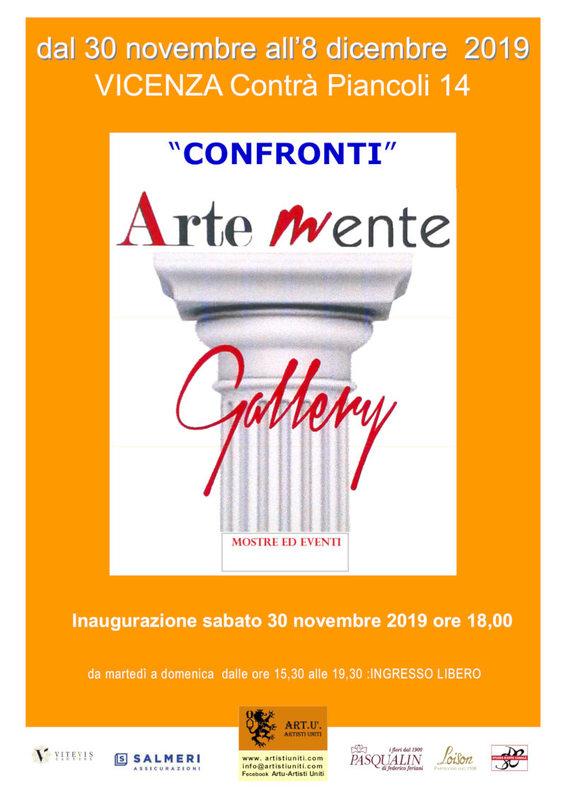 Confronti - Collettiva d'Arte a Vicenza