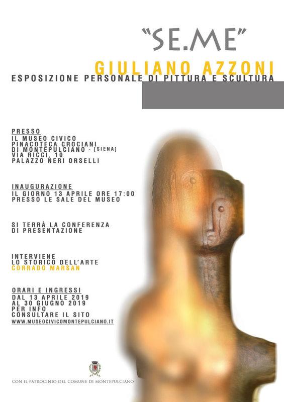 Mostra personale di Giuliano Azzoni